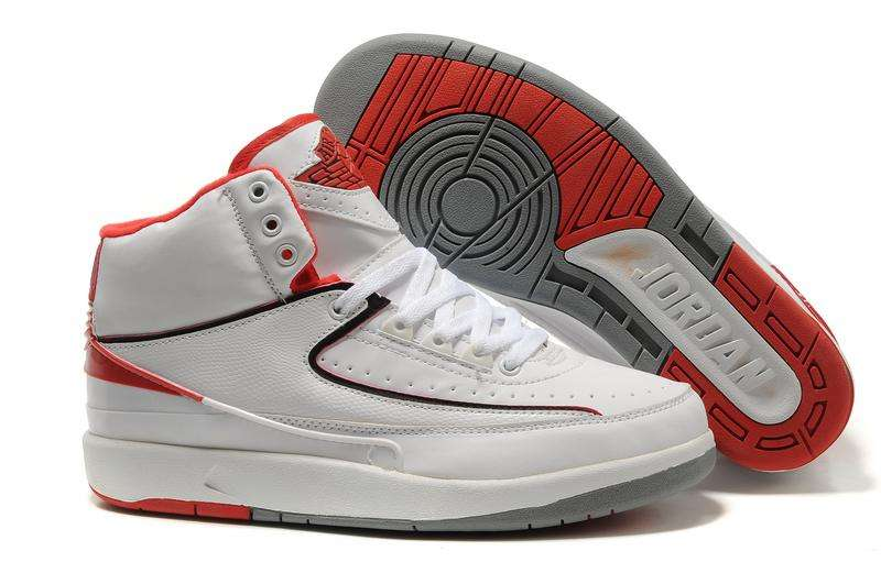low priced 31e72 e69f6 usa air jordan 2 red white rapper b7a51 221fd
