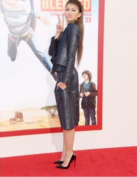 2429ae2f380 Zendaya Coleman Looks Very Stylish In Vivienne Westwood   Christian ...