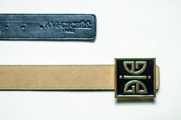 ÀVI~GICHËË Ace Of Spades Reversible Belt Angle 1