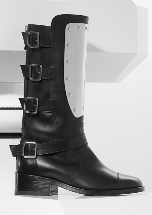 chanelsilverplatedboots2