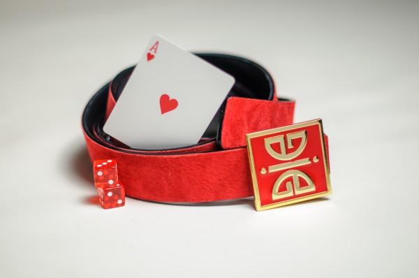 ÀVI~GICHËË Ace Of Hearts Reversible Belt Promo Angle 1