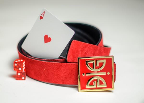 ÀVI~GICHËË Ace Of Hearts Reversible Belt Promo Angle 2