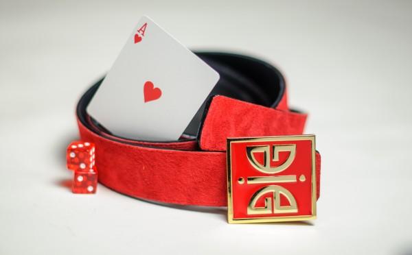 ÀVI~GICHËË Ace Of Hearts Reversible Belt Promo Angle 3