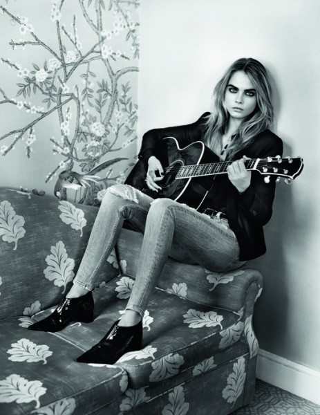 Cara Delevingne For Topshop's Fall 2014 Campaign  1