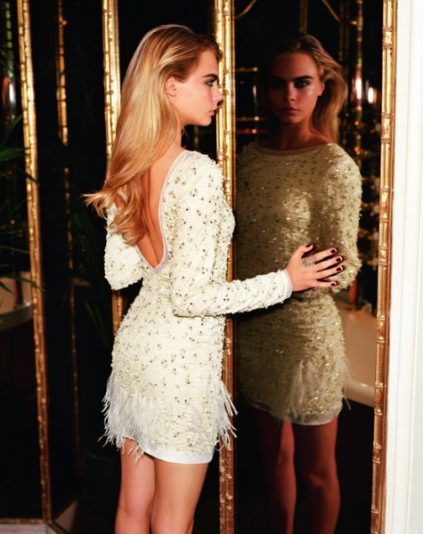 Cara Delevingne For Topshop's Fall 2014 Campaign  5