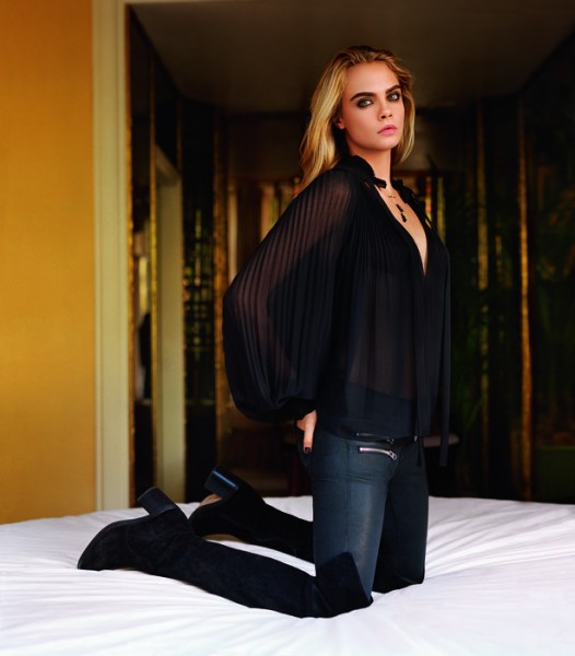 Cara Delevingne For Topshop's Fall 2014 Campaign  8
