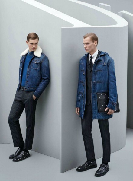Dior Homme Fall 2014 Ad Campaign Starring Aaron Gatward, Jason Anthony & Jules Raynal1