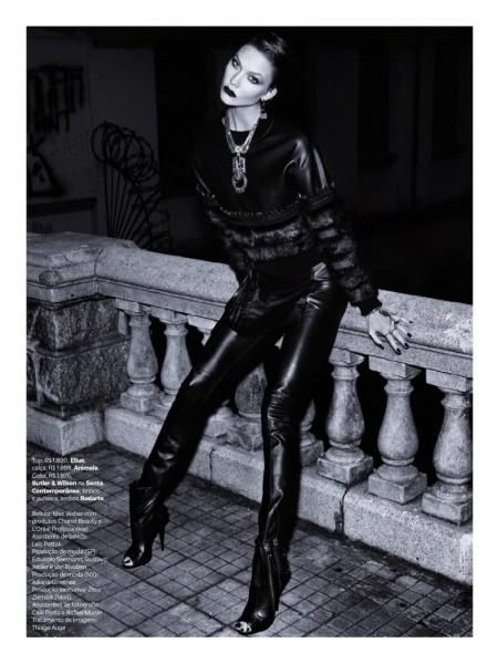 Karlie Kloss  for Vogue Brazil 10