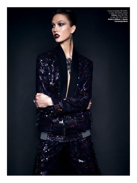 Karlie Kloss  for Vogue Brazil 4