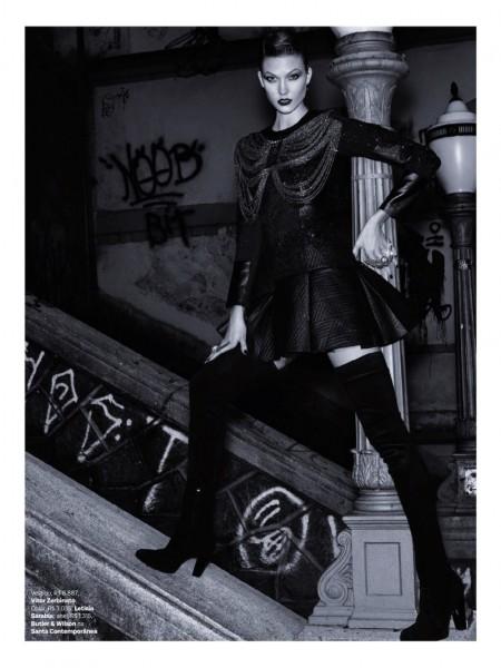 Karlie Kloss  for Vogue Brazil 5