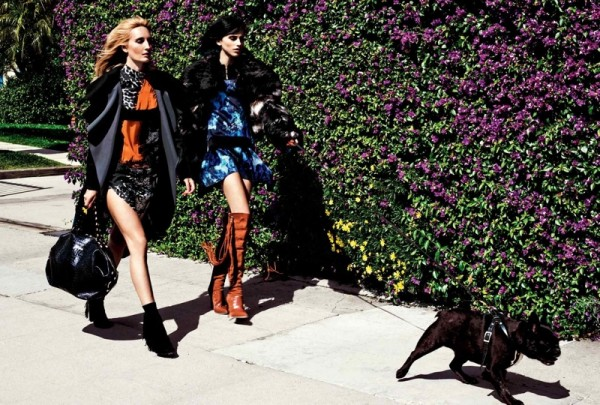 Langley Fox Hemingway For Just Cavall's Fall Winter 2014 Ad1