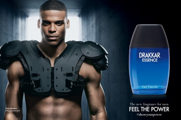NFL Player Cam Newton To Front Drakkar Essence Campaign