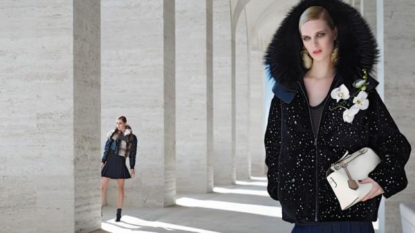Nadja Bender & Ashleigh Good For Fendi's Fall 2014 Campaign1
