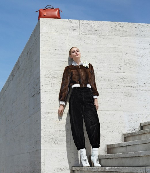 Nadja Bender & Ashleigh Good For Fendi's Fall 2014 Campaign13
