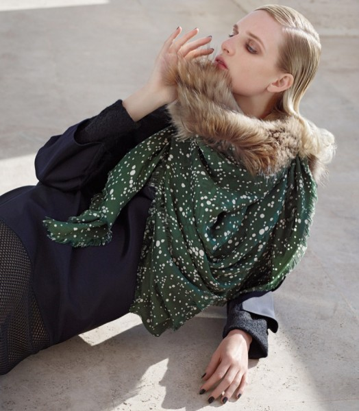Nadja Bender & Ashleigh Good For Fendi's Fall 2014 Campaign16