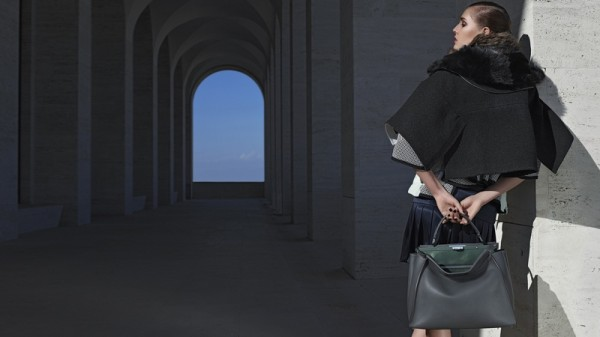 Nadja Bender & Ashleigh Good For Fendi's Fall 2014 Campaign3