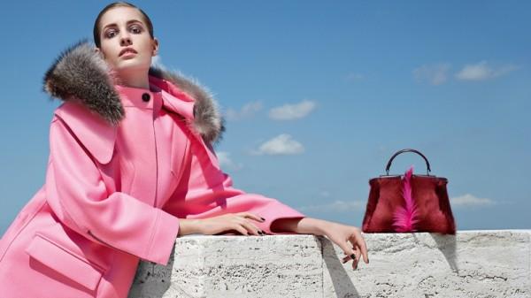 Nadja Bender & Ashleigh Good For Fendi's Fall 2014 Campaign5