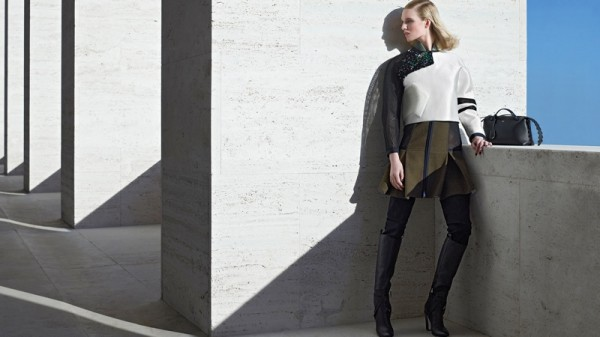 Nadja Bender & Ashleigh Good For Fendi's Fall 2014 Campaign8