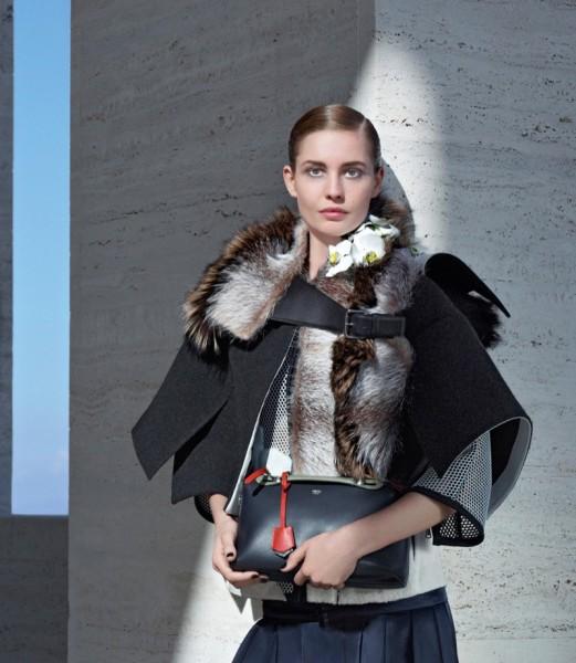 Nadja Bender & Ashleigh Good For Fendi's Fall 2014 Campaign9