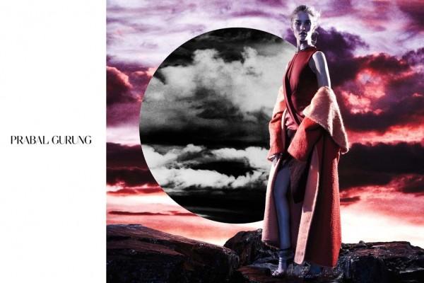 Rosie Huntington-Whiteley For Prabal Gurung's Fall 2014 Ads 4