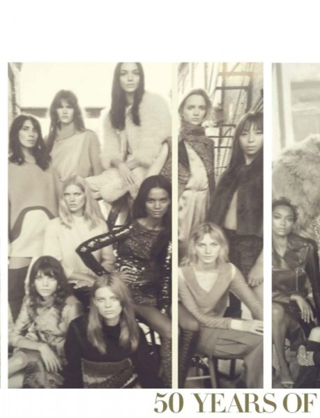 50 Models Cover The September 2014 Issue Of Vogue Italia2