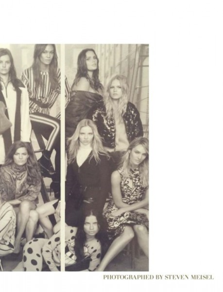 50 Models Cover The September 2014 Issue Of Vogue Italia5