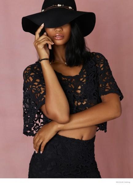 Chanel Iman & Barbara Palvin For Revolve Clothing's Fall 2014 Campaign 11