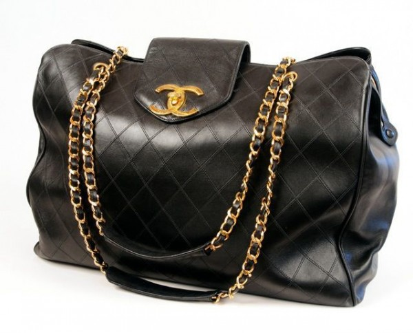 Chanel Quilted Large bag1