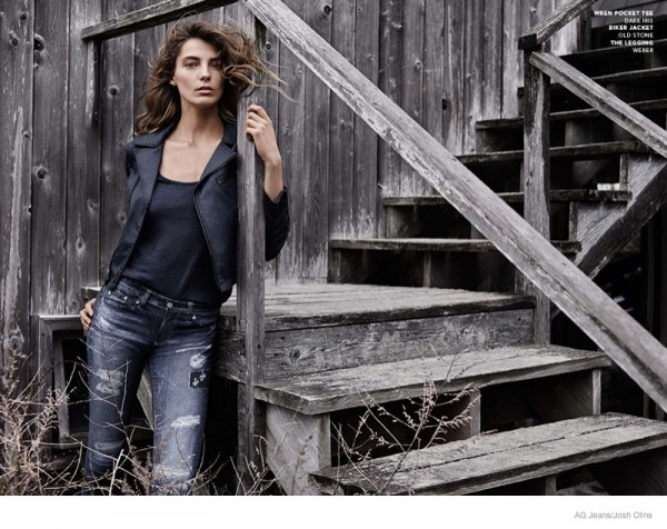 Daria Werbowy For AG Jeans Fall Winter 2014 Ad Campaign3