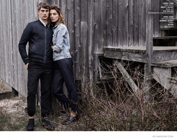Daria Werbowy For AG Jeans Fall Winter 2014 Ad Campaign4