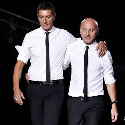 Domenico Dolce and Stefano Gabbana1