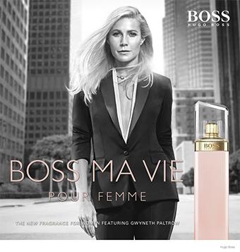 Gwyneth Paltrow For Hugo Boss' Boss Ma Vie Perfume