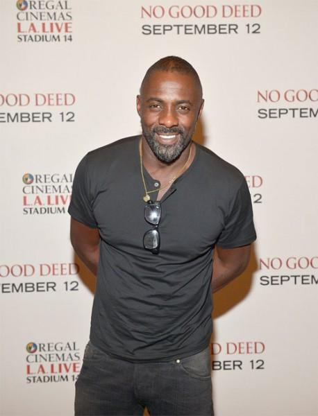 Idris Elba & Taraji P. Henson At 'No Good Deed' L.A. Screening2