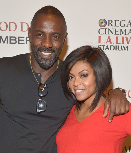 Idris Elba & Taraji P. Henson At 'No Good Deed' L.A. Screening3