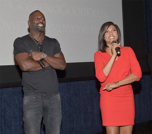 Idris Elba & Taraji P. Henson At 'No Good Deed' L.A. Screening7