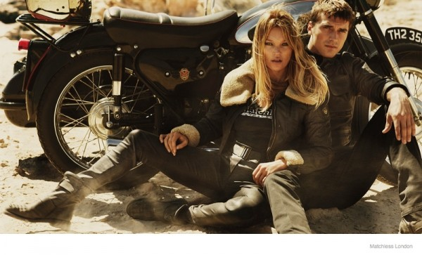 Kate Moss For Matchless London's Fall 2014 Ad Campaign 1