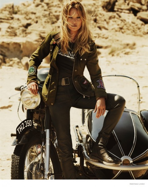 Kate Moss For Matchless London's Fall 2014 Ad Campaign 3