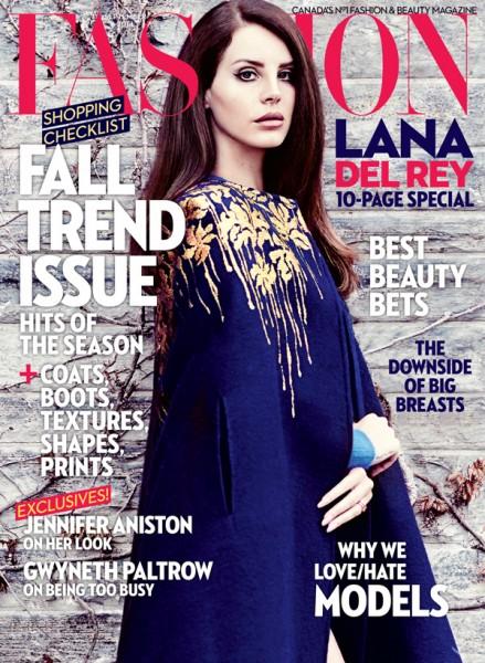 Lana Del Rey For FASHION Magazine's September 2014 Issue 1