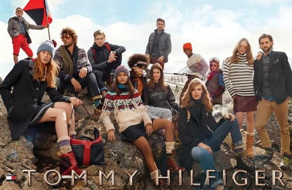 Model Conrad Bromfield For Tommy Hilfiger Fall Winter 2014 Ad Campaign1