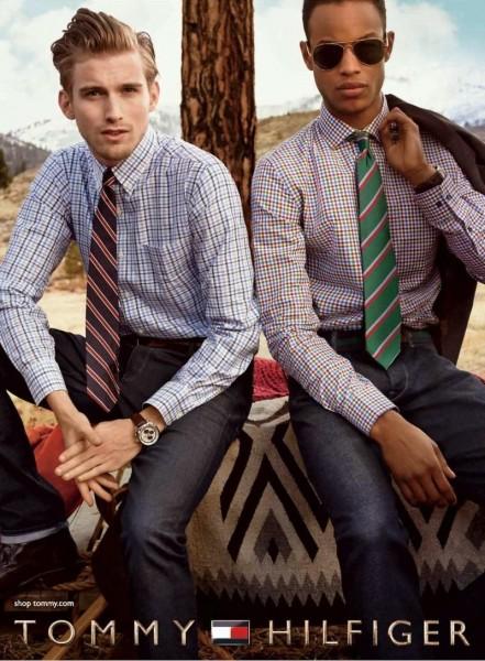 Model Conrad Bromfield For Tommy Hilfiger Fall Winter 2014 Ad Campaign2