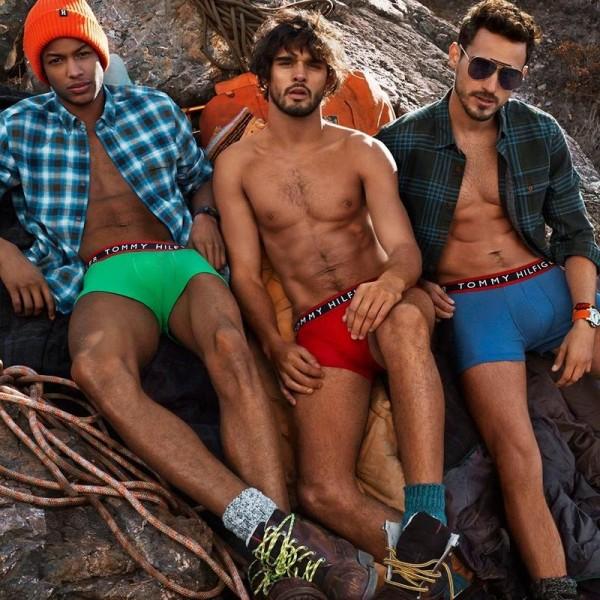 Model Conrad Bromfield For Tommy Hilfiger Fall Winter 2014 Ad Campaign3