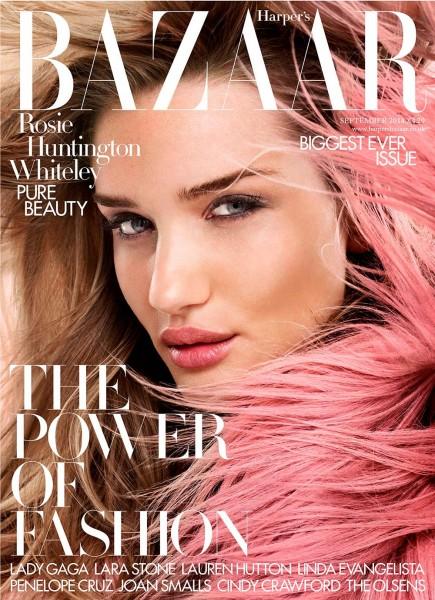 Rosie Huntington-Whiteley For Harper's Bazaar UK 4