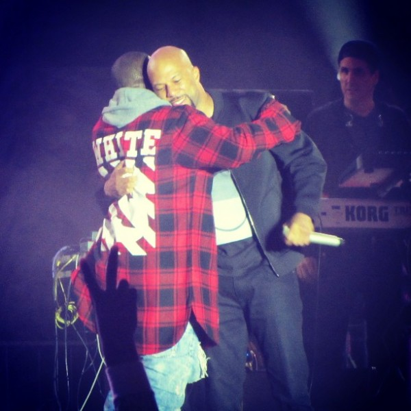 Kanye West Wears A $588 Off-White CO Virgil Abloh Red Plaid Shirt6