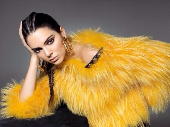 Kendall Jenner Styles In Balmain For Sunday Times  1
