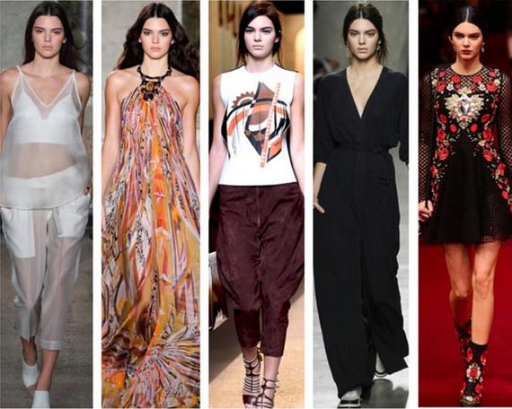 Kendall Jenner Takes Milan Fashion Week By Storm