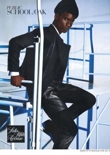 Model Adonis Bosso Saks