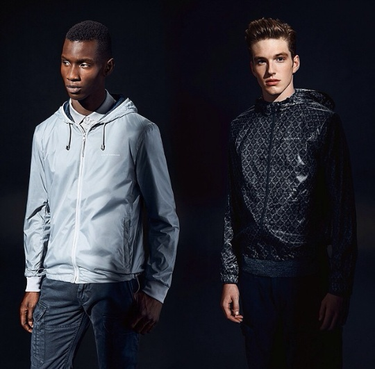 Model Adonis Bosso Stars In Armani Exchange Editorial 1