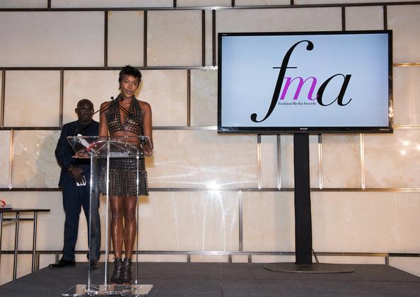 Naomi Campbell Receives Award At The Daily Front Row Fashion Media Awards 1