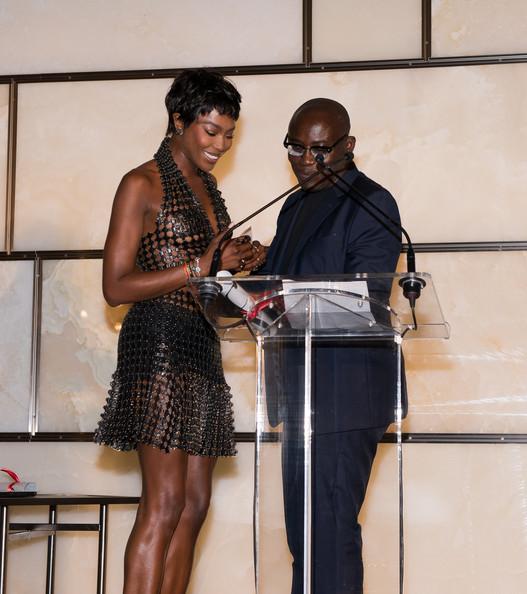 Naomi Campbell Receives Award At The Daily Front Row Fashion Media Awards 2