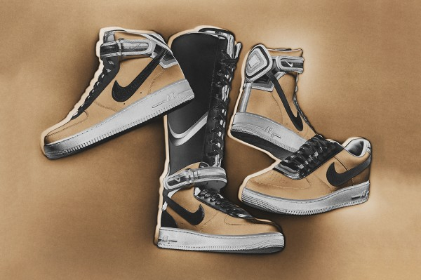 """Nike + R.T. Air Force 1 """"Triangle Offense"""" Collection1"""